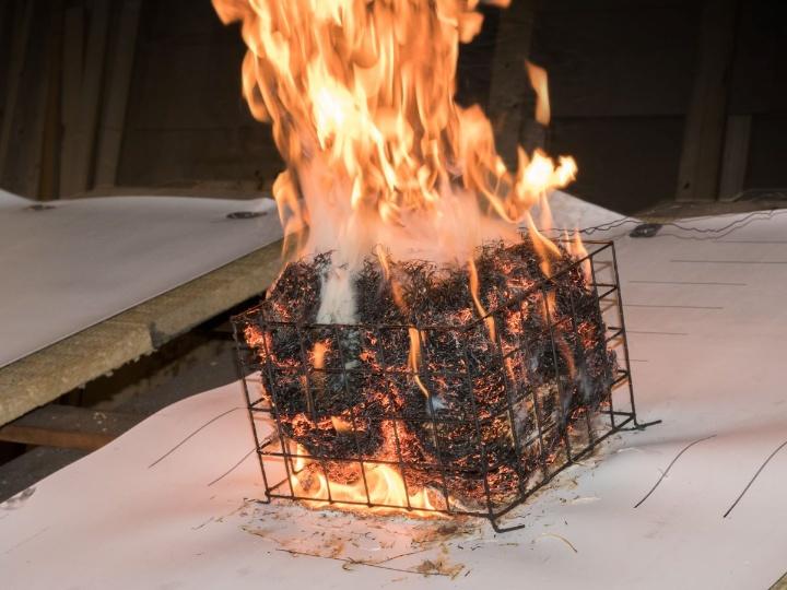 51310 Brandverhalten von Baustoffen