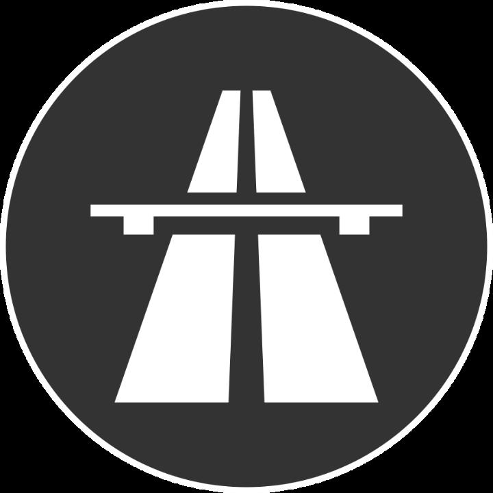 Piktogramm Verkehrsinfrastruktur